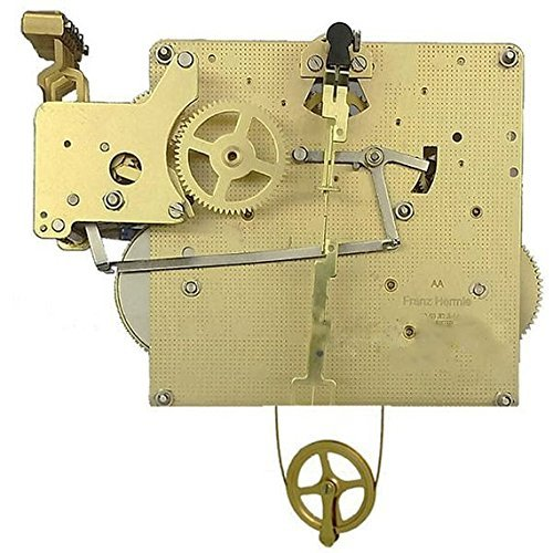 Qwirly Store: Clock Movement 351-830 with 66, 75 or 85 cm Gearing (75 cm) -  Hermle, 351-830-75