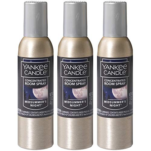 Yankee Candle Concentrated Room Spray 3-PACK (MidSummer's Night)
