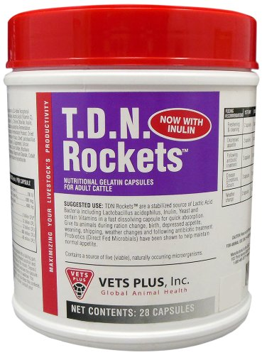 Vet's Plus 28-Pack T.D.N. Rockets Horse Supplement by Vet's Plus