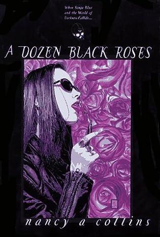 book cover of A Dozen Black Roses
