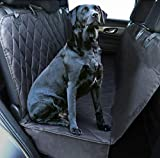 Plush Paws Ultra-Luxury Pet Seat Cover Waterproof, 2 Bonus Harnesses & 2 Seat Belts, Hammock, Side Flaps, Seat Anchors, Nonslip Silicone, Quilted, Machine Washable for Cars, Trucks & SUV For Sale