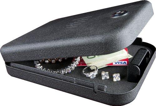 GunVault NV100 NanoVault with Key Lock, Fits Sub-Compact Pistols, Outdoor Stuffs