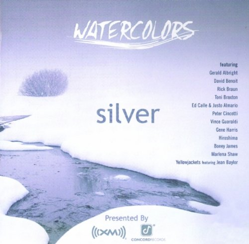 Xm Watercolors: Silver Silver Fusion Jackets