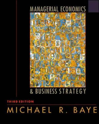 book-image-Managerial Economics and Business Strategy