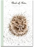 Wrendale Hedgehog - A6 Lined Notebook / Memo Book - Little Book of Notes