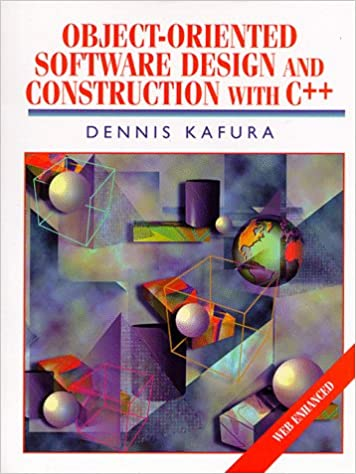 Amazon Com Object Oriented Software Design And Construction With C Alan R Apt Book 9780139013492 Kafura Dennis Books