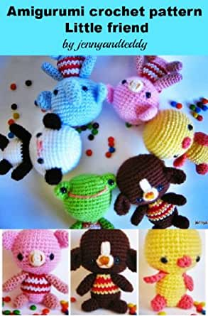 Amigurumi Pattern Reading : Amazon.com: amigurumi little friends crochet pattern eBook ...