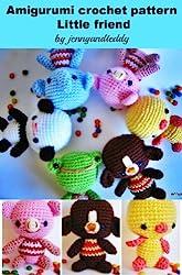 amigurumi little friends crochet pattern (English Edition)