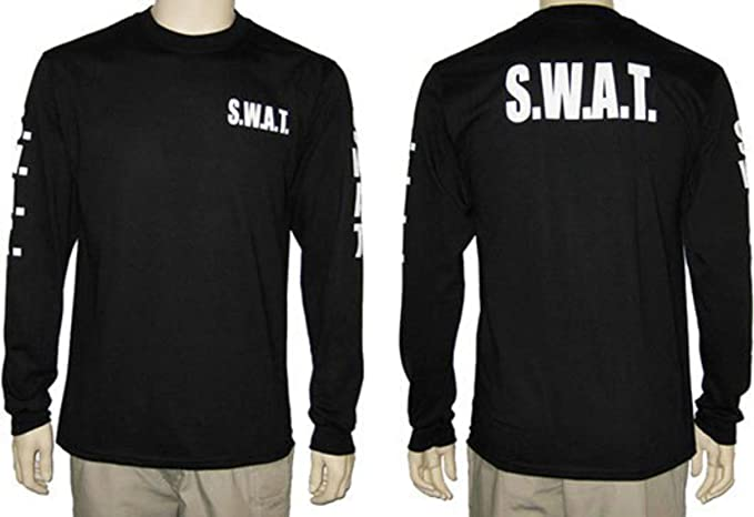 7d3f49c7fe5 Amazon.com  Firestone SWAT Long Sleeve T-Shirt Black  Clothing
