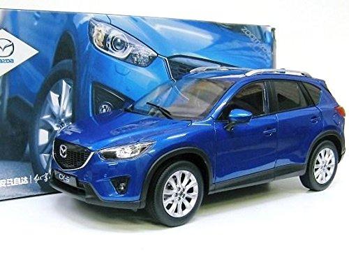 Mazda特注 1/18 マツダ CX-5 (ブルー) SKY ACTIV B00ZGS9XUY