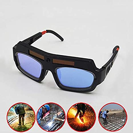 Solar Lens Mask Hood Welding Helmet Glass Auto Dimming Darkening Welder Goggles