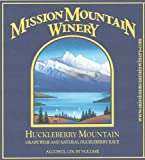 NV Mission Mountain Winery Huckleberry Mountain Blend - Red 750 mL