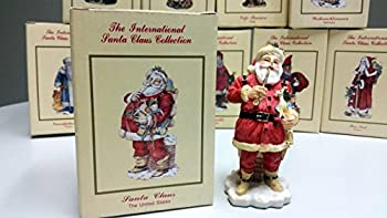 Santa Claus - The United States Christmas Figurine (The International Santa Claus Collection)