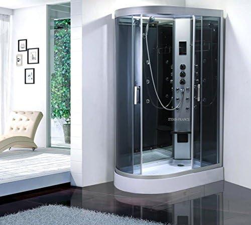 Genérico de cabina de ducha con hidromasaje Hammam 120 x 80 x 215: Amazon.es: Hogar