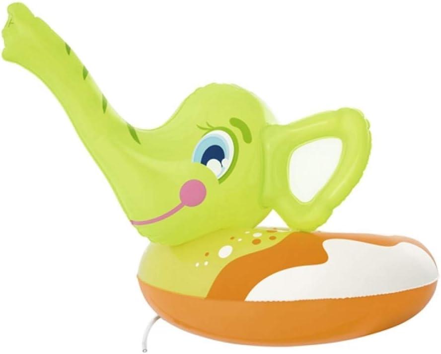 DMMDHR Inflable para niños Elefante Aerosol Anillos de natación ...