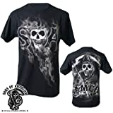 Sons of Anarchy Reaper/Samcro Black T-Shirt 3X-Large