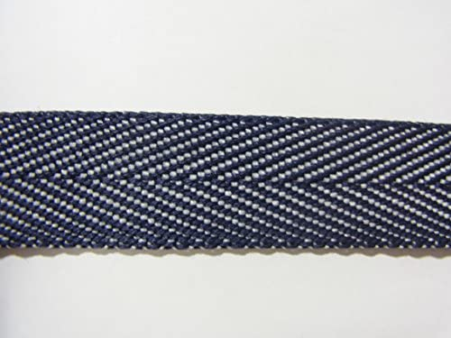 デニム調杉綾テープ 20mm巾x2m