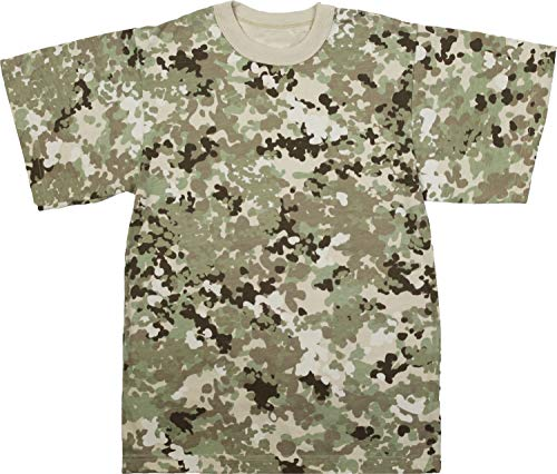 Army Universe Total Terrain Camouflage Short Sleeve T-Shirt Pin - Size X-Large (45