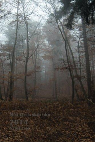 Mini Taschenkalender 2014 Nebelwald: 1 Woche pro Seite - ca. A6 Format