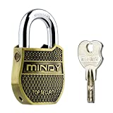Mindy Heavy Duty Padlock with Keys Fashion Look Security lock, A8-50