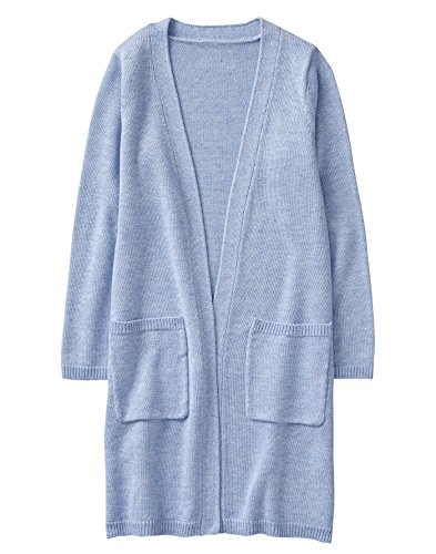 Gymboree Little Girls' Sleeve Long Cardigan, Periwinkle, - Gymboree Sweater Cardigan