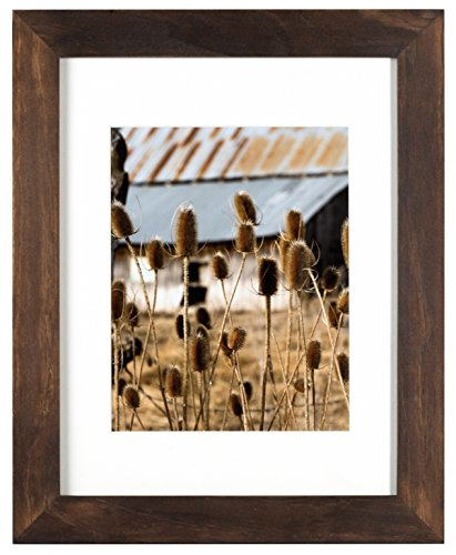 (Nielsen Bainbridge Artcare 11x14 Archival White Mat for 8x10 Image #RW13ARHN. Includes: UV Glazed Glass and Anti Aging Liner Hazelnut Arcadia Frame, 8 Inches x 10 Inches )
