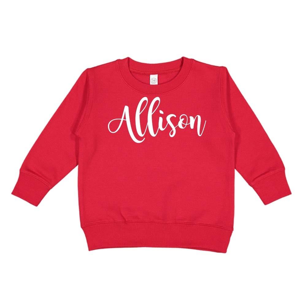 Mashed Clothing Allison Personalized Name Toddler//Kids Sweatshirt