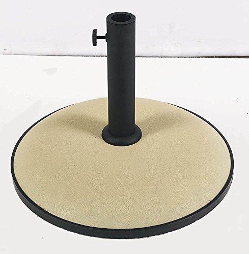 Fiberbuilt Umbrellas Concrete - 19 in. Concrete Umbrella Base