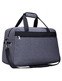 "MIER 21"" Carry On Cabin on Flight Duffel Weekend Overnight Travel Bags-Grey"