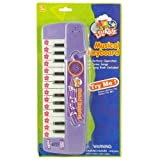 Little Kids 24 Key Mini Keyboard Piano, 8 Preloaded Demo Songs, Song Book and Batteries Included