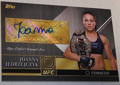 Joanna Jedrzejczyk Signed 2016 UFC Topps Top of the Class Card #JJ TOC Autograph - Autographed UFC Cards