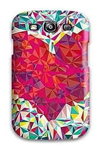 Galaxy High Quality Tpu Case/ Cool Love Heart CnYlxPv113EqjKu Case Cover For Galaxy S3 by icecream design