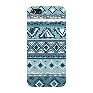 Blue Aztec Hard Case Cover iPhone 5C