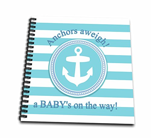 3dRose db_179692_1 Anchors Aweigh a Baby's on the Way for...