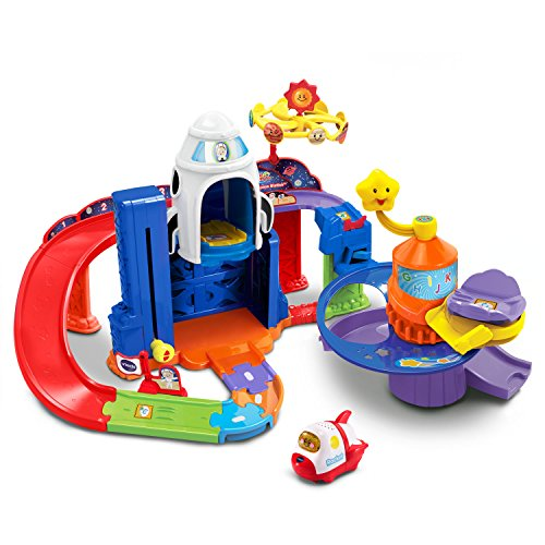 VTech Go! Go! Smart Wheels Blast-Off Space - Ship And Track