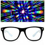 GloFX Ultimate Diffraction Glasses - 3D Prism Effect