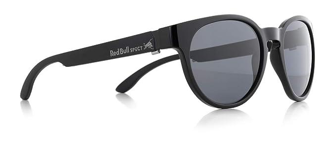 Red Bull SPECT Gafas De Sol Polarizadas Wing4 Shiny Negro-Smoke (Default, Negro