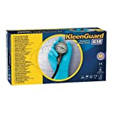 Kimberly Clark Safety 57373 Nitrile Kleenguard G10 Gloves, Large, Blue (Pack of 100)