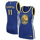 Adidas Klay Thompson Golden State Warriors Women's Replica Blue Jersey (Medium)