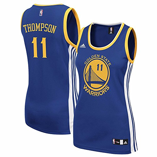 (adidas Klay Thompson Golden State Warriors Women's Replica Blue Jersey (XX-Large))