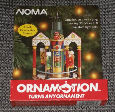 Ornamotion Ornament Turning Motor