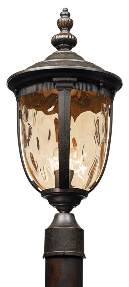 "Bellagio Collection 21"" High Bronze Outdoor Post Light"