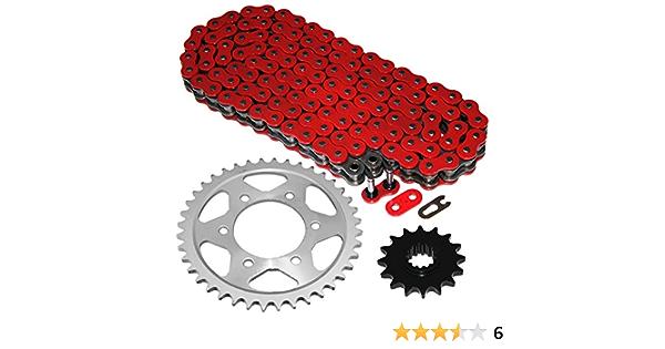 Caltric Red Drive Chain Compatible With Honda Cbr600F4 Cbr600F4I 1999 2000 2001 2002 2003 2004 2005 2006 525-Chain
