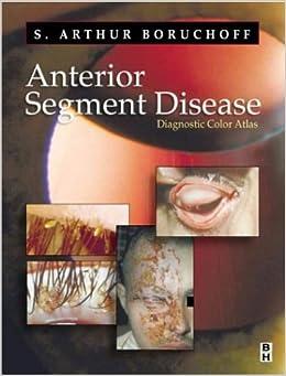 Book Anterior Segment Disorder: A Diagnostic Color Atlas, 1e
