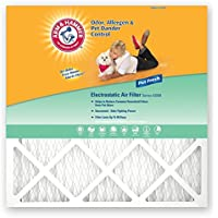 Arm & Hammer AF-AH2030.4 Enhanced Air Filter, 20-Inch by 30-Inch by 1-Inch, 4-Pack