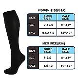 Compression Socks Women & Men Circulation 20-30mmhg