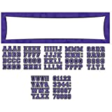 Amscan Pretty Customizable Giant Party Sign Banner Decoration Supplies , Purple, 1452 Pieces