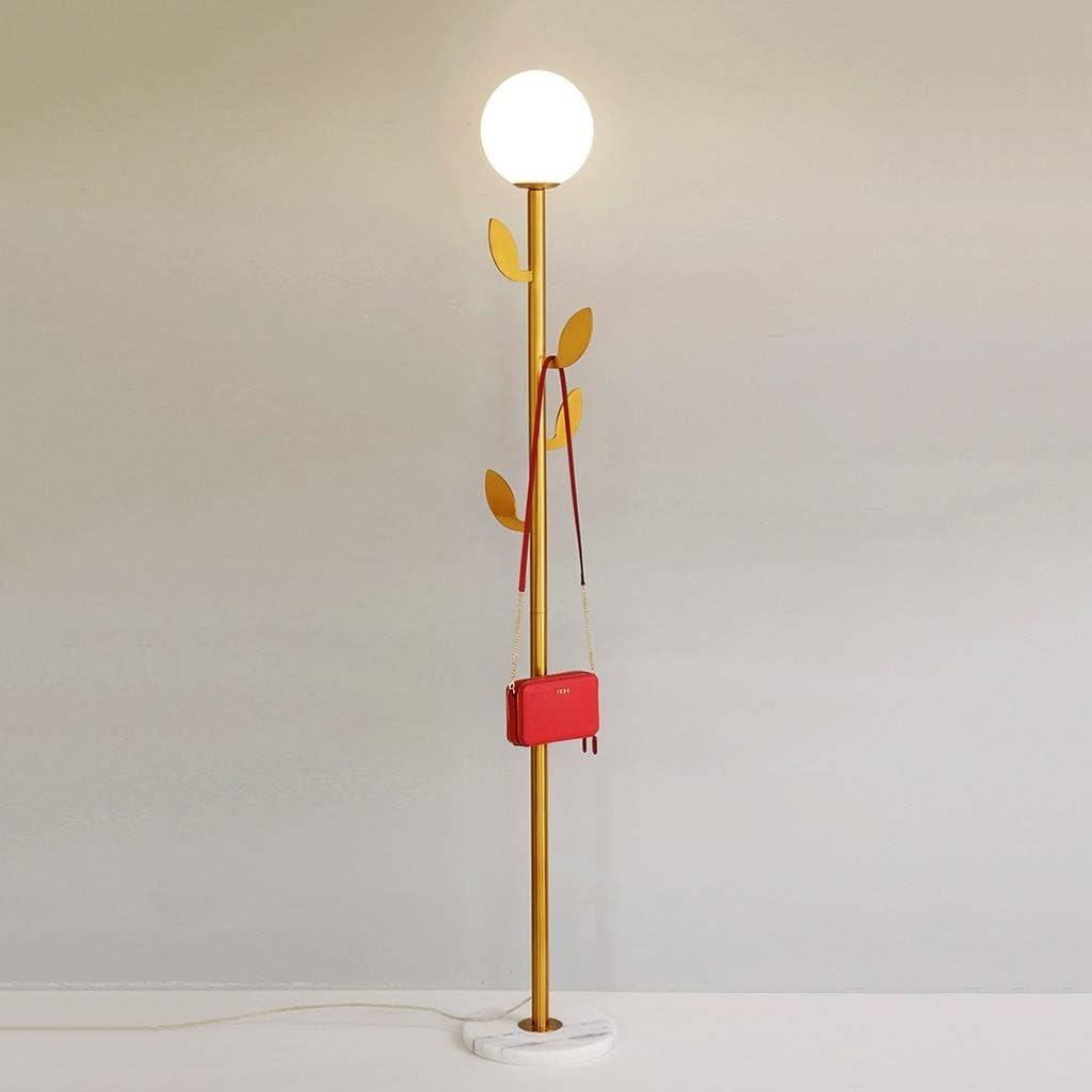 Hohe Gold Kleiderhaken Stehlampe Modern Style Wohnzimmer Lese