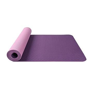 YJDZXM GRJH® esterillas de Yoga, Goma Natural profesión ...