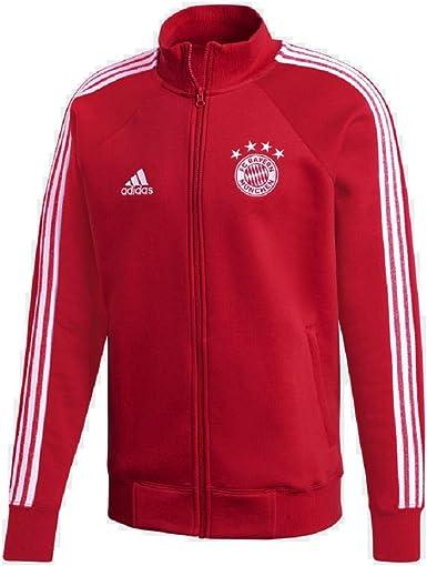Tengo una clase de ingles cortar Extracción  Amazon.com: adidas Men's FC Bayern Munich Icons Track Jacket- 2020/21:  Clothing